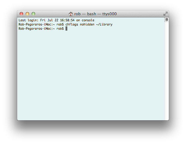 Debugging a few defective defaults in Lion (3/3)