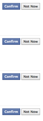 Why I'm not accepting your friend request, version 2.0