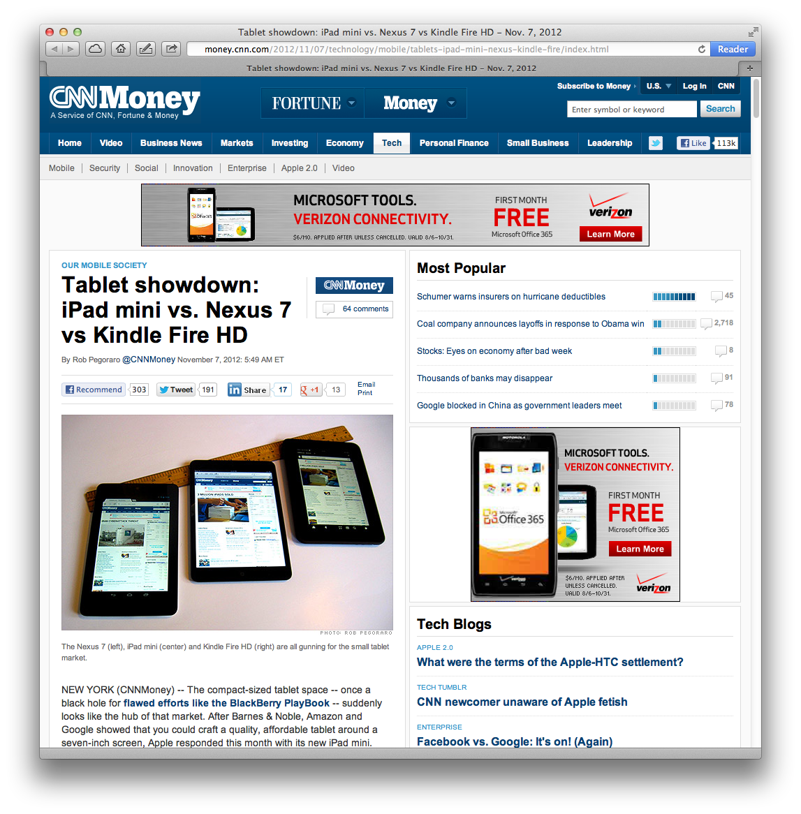 """tablet war: rimís playbook versus appleís ipad essay Two years ago i wrote a column for inside higher ed entitled """"the ipad for  academics"""" now, two years and two new models of ipad later,."""
