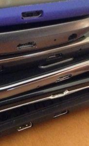 Phone micro-USB ports