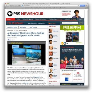 PBS NewsHour CES recap