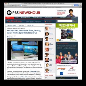 PBS NewsHour CES recap