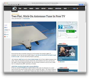 Discovery TV antennas review