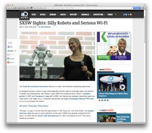 Discovery News SXSW 2013 post