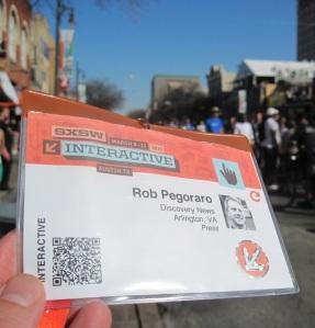 SXSW 2013 badge