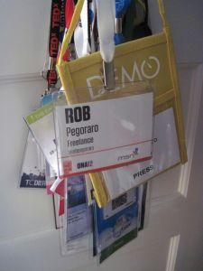 Conference badges