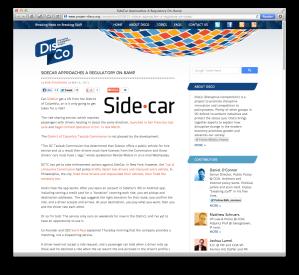 SideCar DisCo post