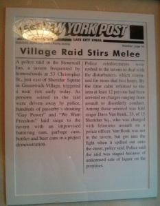 Stonewall NY Post