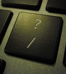 Question-mark key