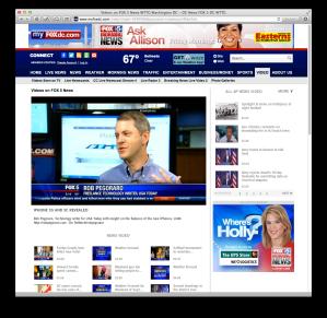 Fox 5 new-iPhones spot