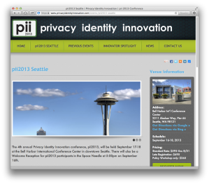 PII 2013 home page