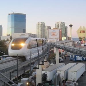 CES 2013 monorail