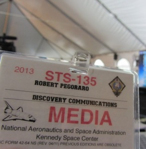 Discovery STS-135 badge