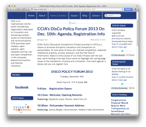 DisCo Policy Forum