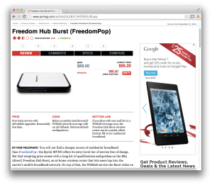PCMag Freedom Hub Burst review