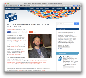 DisCo Ohanian interview