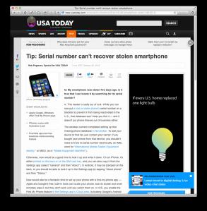 USAT stolen-phones update