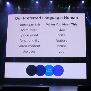 Yahoo Tech language