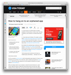USAT orphaned-app column