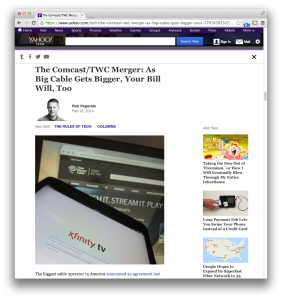Yahoo Comcast-TWC post