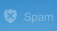 Yahoo Mail spam icon