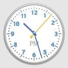 OS X clock