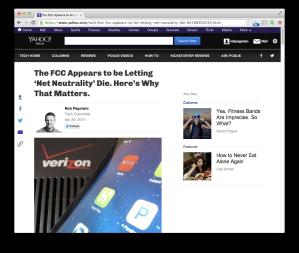 Yahoo net-neutrality post