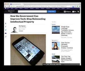 Yahoo Tech API-copyright post