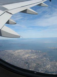 Departing SFO