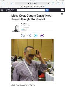 Google Cardboard post