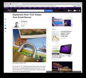Yahoo Tech TLS post