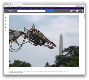 Yahoo Tech White House Maker Faire report