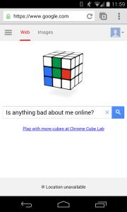 Google RtbF search