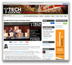 Tech Cocktail Celebrate Hagins interview
