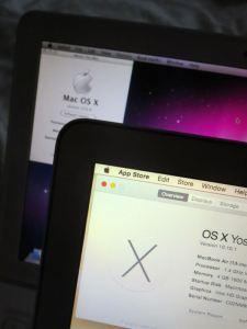 Old MacBook and new MacBook