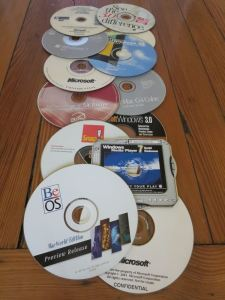Old and obscure software CDs