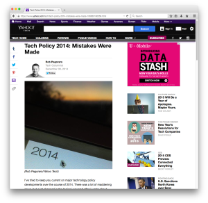 Yahoo Tech 2014 in review