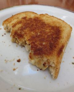 Grilled-cheese sandwich
