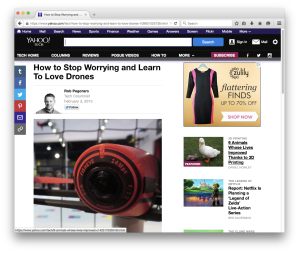 Yahoo Tech drone-anxiety post