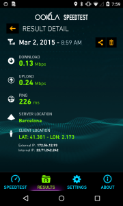 T-Mobile 2G roaming speed test