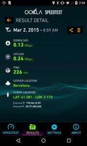 T-Mobile 2G roaming speed test