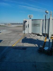 Dulles gate B51 view