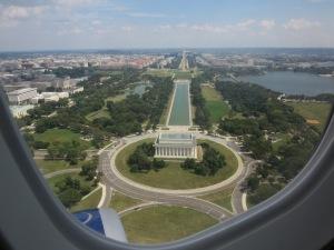 Lincoln Memorial River Visual view