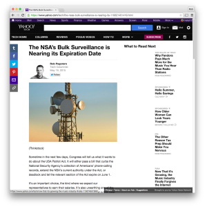 Yahoo Tech NSA-surveillance post