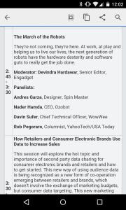 CE Week panel description