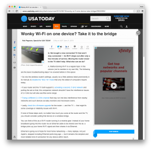 USA Today wireless-bridge post