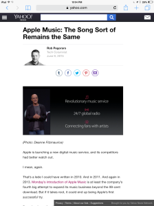Yahoo Tech Apple Music post