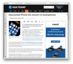 USAT iPhone-discounts column
