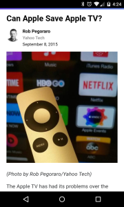 Yahoo Tech Apple TV post