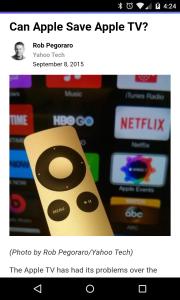 Yahoo Tech Apple TV post